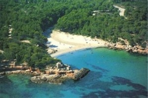 Playa Cala Morisca, Sitges