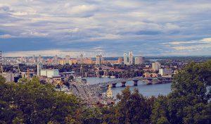 vue de kiev en ukraine